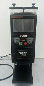 Bunn G9 2t Dbc Commercial Coffee Grinder 2 Hoppers P n 33700 0001