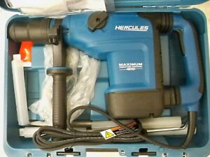 Hercules He34 12amp 1 9 16 Sds max Variable Speed Rotary Hammer