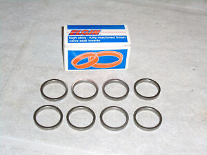Ford 48 53 Flathead V 8 Valve Seat Rings 8 Hard Alloy Steel No Lead Exhaust Usa