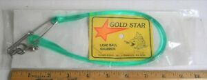 New Gold Star Lead Ball Snubber $12.99