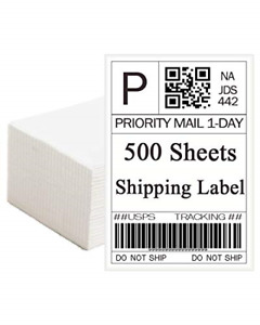 Phomemo Shipping Address Labels 4 X 6 Direct Mailing Thermal Printer Square