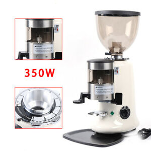 350w Commercial Electric Coffee Grinder Burr Mill Espresso Bean Home Grind 1200g