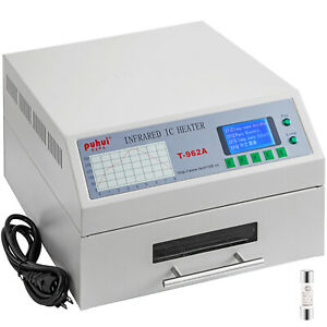 Reflow Oven Reflow Soldering Machine T962a Smd Bga Infrared Ic Heater 300x320mm