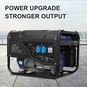 1200w 3000w Portable Gas Generator Emergency Home Back Up Power Camping