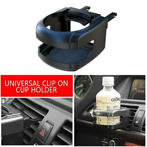 2pc Clip On Cup Holder For Car Van Air Vent Holds Bottle Can Drink Cup Universal