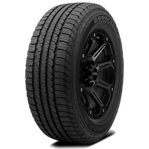 2 P245 65r17 Goodyear Fortera Hl 105t Sl 4 Ply Bsw Tires