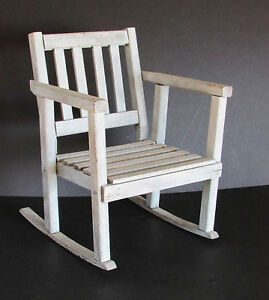 Child S Display Rocking Chair Vintage Wood Shabby Shaker Style 17 25 Free Sh