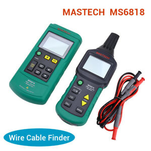 Mastech Ms6818 12v 400v Wire Cable Ac dc Tracker Metal Pipe Locator Detector Tes