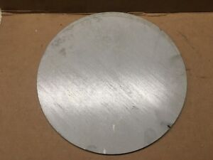 1 4 Inch 304l Stainless Steel Plate disc cut Out X 7 7 8 Inch Diameter