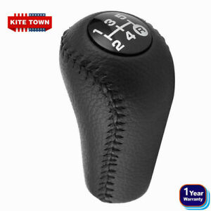 5 Speed Leather Gear Shift Knob For Toyota 4runner Hilux Prado For 3350420120 C0