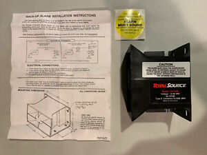 Total Source Sy1048 Back up Alarm 12 48 Vdc Type D New