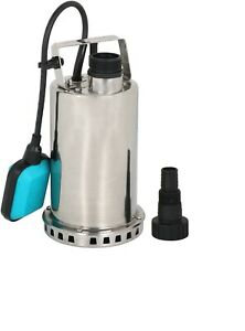 1hp Submersible Stainless Steel Pump Sump Dirty Clean Water Pump W 26ft Cable