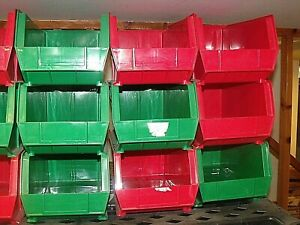 Uline Plastic Stackable Storage Bins Local Pa Pickup Only