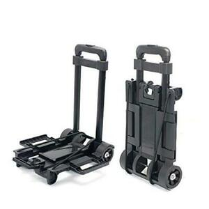 Folding Luggage Cart Lightweight Collapsible And Portable Fold Up Dolly For