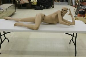 Vintage Female Mannequin Full Size Laying