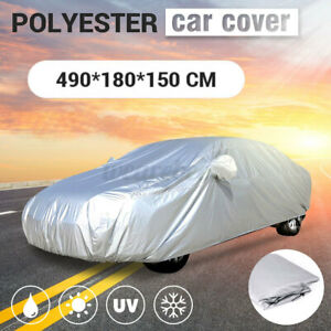 16ft Waterproof Full Car Cover All Weather Protection Sun Uv Rain Dust Resistant Fits 1968 Mustang