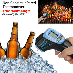 Non contact Ir Digital Infrared Thermometer Handheld Point Laser Temperature Gun