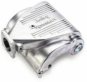 Holley Systemax Upper Intake Efi Manifold Shiny Finish For Ford 1986 1993