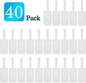 40pcs Universal Spray Filters Disposable Hvlp Gravity Feed Paint Strainers New