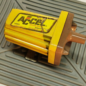 Vtg Accel 140001 Super Ignition Coil Muscle Car Street Rod Used Fits Most Model