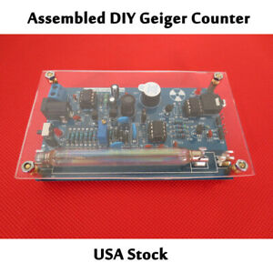 Diy Source Geiger Counter Kit Nuclear Radiation Gm Detector Tube Radiation