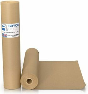Brown Kraft Paper Roll Ideal For Packing Moving Gift Wrapping Postal Shipping