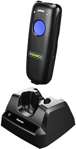 Nadamoo Wireless Barcode Scanner Compatible With Bluetooth With Charging Dock