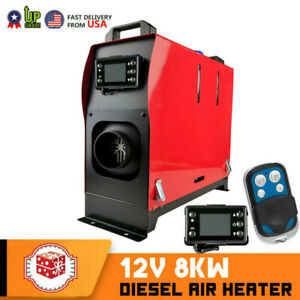 Diesel Air Heater Heater All In One 8kw Lcd Switch For Cars Trucks Rv 8000w