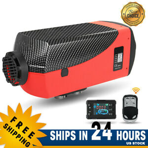 8kw 12v Upgrade Diesel Air Heater Lcd Screen Fit Truck Boat Car Bus Trailer