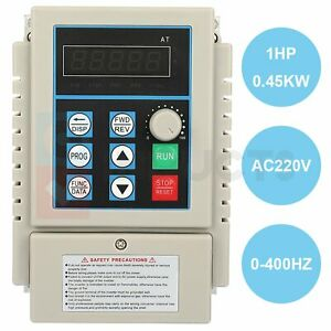 3a Vfd 220v Single To 3 Phase 0 6hp 0 45kw Variable Frequency Drive Inverte
