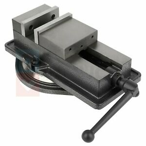 Bench Clamp 5 inch Lock Vise Swivel Base Milling Machine Fitter Tools