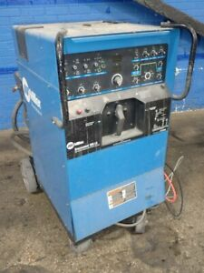 Miller Syncrowave 350 Lx Miller Syncrowave 350 Lx Welder 300 Amps 012107500