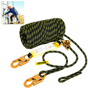 Vevor Vertical Lifeline Assembly Fall Protection Rope 100 Ft Polyester 310 Lbs
