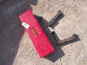 Farmall Ih Tractor Removeable Side Mount Tool Box Step W Brackets