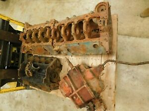 Chevy Gm 350 Engine Block Blocks With 2 Amp 4 Bolt Mains 400 4 Speed Transmission
