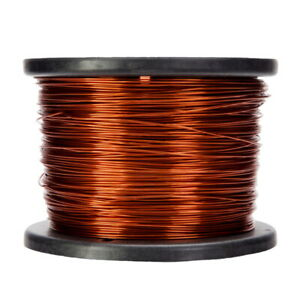 20 Awg Gauge Enameled Copper Magnet Wire 5 0 Lbs 1573 Length 0 0351 240c Nat