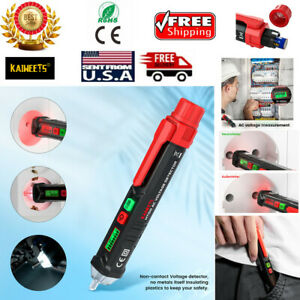 Kaiweets 12 1000v Non contact Ac Electrical Tester Pen Voltage Detector With Led