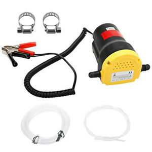 60w Electric Motor Oil Diesel Extractor Scavenge Suction Transfer Change Pump
