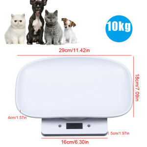10kg 1g Lcd Digital Pet Scale Portable For Puppy Dog cat rabbit Weighing Scale