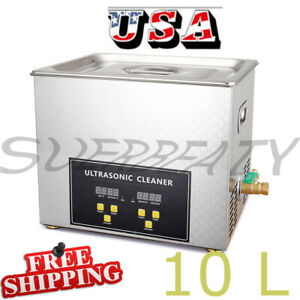 3l Professional Digital Ultrasonic Cleaner With Timer Heated Cleaning Machine