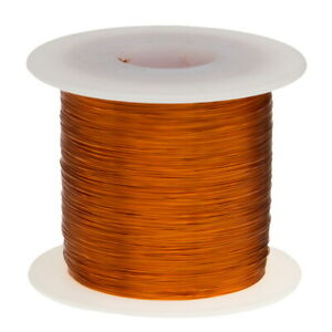 32 Awg Gauge Enameled Copper Magnet Wire 2 5 Lbs 12220 Length 0 0097 240c Nat