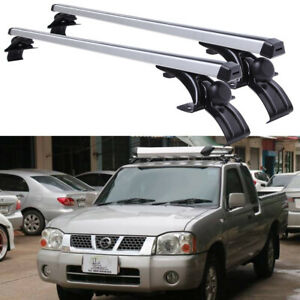 For Nissan Frontier 48 Car Top Roof Rack Cross Bar Luggage Carrier Aluminum