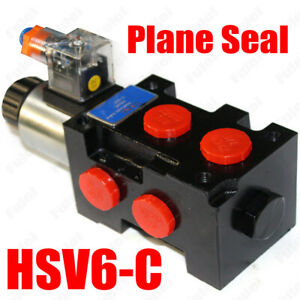 Hydraulic Solenoid Selector Diverter Valve 12v Dc 13 Gpm 3625 Psi 100 New