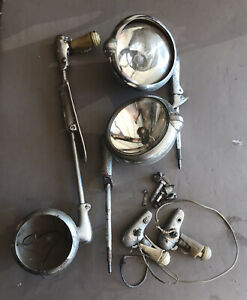 Vintage Automotive Car Truck Spotlights Unity Mfg Co Ford Unity Made In Usa