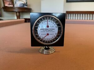 Antique Auto Thermometer Humidity Gauge 1930s 1950s Dash Accessory Chevy Ford Fits 1950 Ford