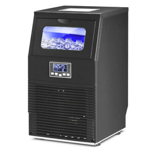 Commercial Ice Maker Freestanding Ice Cube Machine Undercounter 88 Lbs Bar Shope