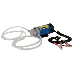 12 V 100w Portable Electric Oil Transfer Extractor Fluid Suction Pump Siphon