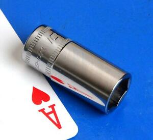 New Listingsnap On Tools 14 Drive 10mm Semi Deep Chrome 6 Point Socket Wrench 2021 New