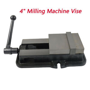 4 Milling Drilling Machine Clamp Vice Vise Flat Tongs Table Vice Precision