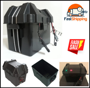 Hm082bks Group U1 Snap Top Battery Box For Mobility And Lawn And Garden Batterie